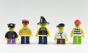 Lego-5-Figure-Donna-Bambina-City-Pezzo-di-Ricambio-Nuovo-5