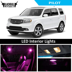 Image Is Loading Pink Led Interior Lights Replacement Kit For 2009