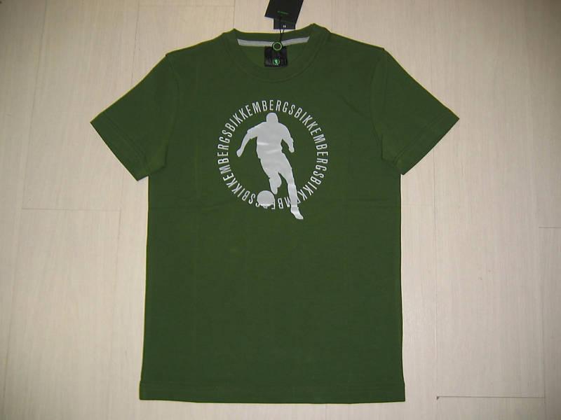 Aa 5000 Taille Xl Bikkembergs Logo Tee T-shirt Jersey Ve / Gr T-shirt Coton