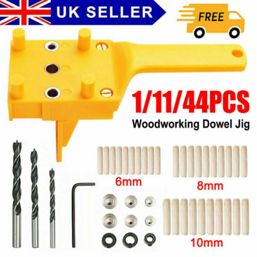 Woodworking Doweling Jig Drill Guide Wood Dowel Drill Hole Tool 6 8 10mm New2020