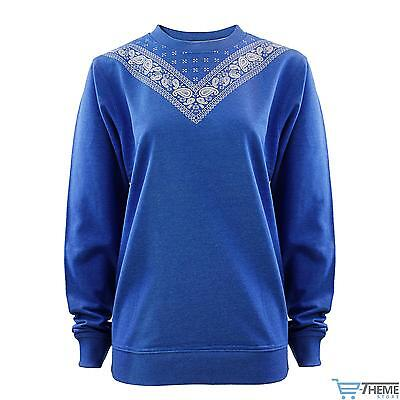 NEW WOMENS LADIES PRINTED OVERSIZED JUMPER SWEATSHIRT TOP SWEATER PLUS SIZE 14-2