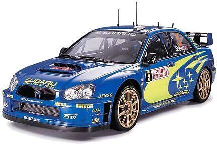 Tamiya 1   24 sportwagen - serie subaru impreza wrc monte carlo '05