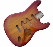 Sienna Sunburst Stratocaster Electric Guitar Body - 2 Piece American Alder