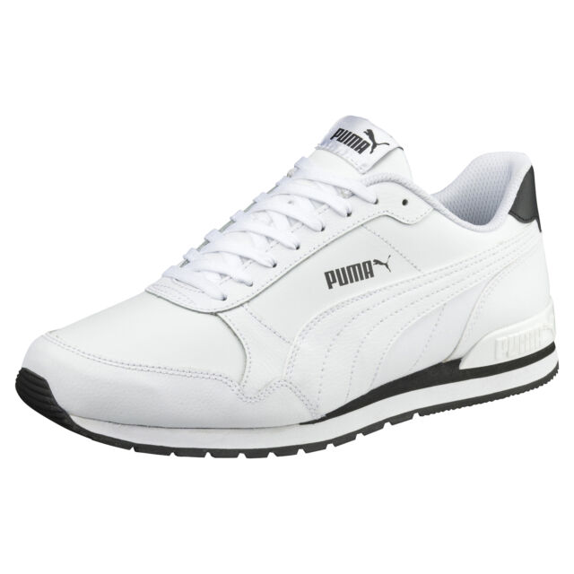 Puma ST Runner v2 Full Leather Sneakers | Athletic | Lace up shoe | classic  NEW