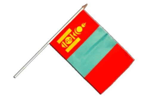 Mongolia Stock Bandiera Bandiere Bandiere Stock Bandiera 30x45cm