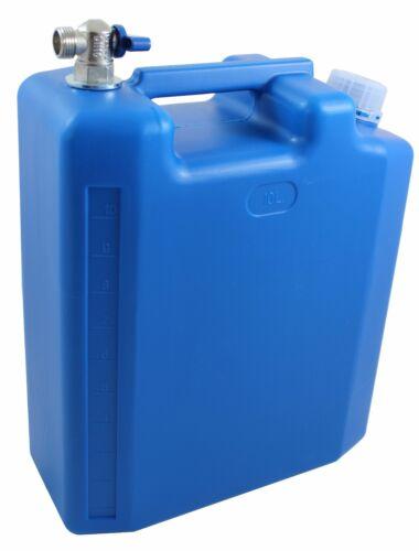 Réservoirs d/'eau bidons d/'eau avec metalhahn 10 L Réservoir adapté pour caravane