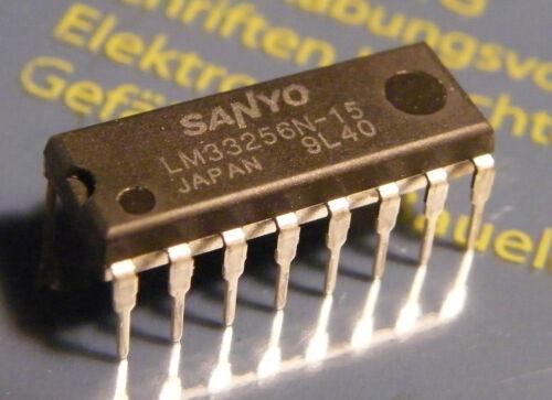8x lm33256n-15 NMOS DRAM 256kx1, sanyo