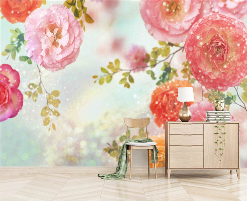 Orient Later Flower 3D Full Wall Mural Photo Wallpaper Printing Home Kids Decor