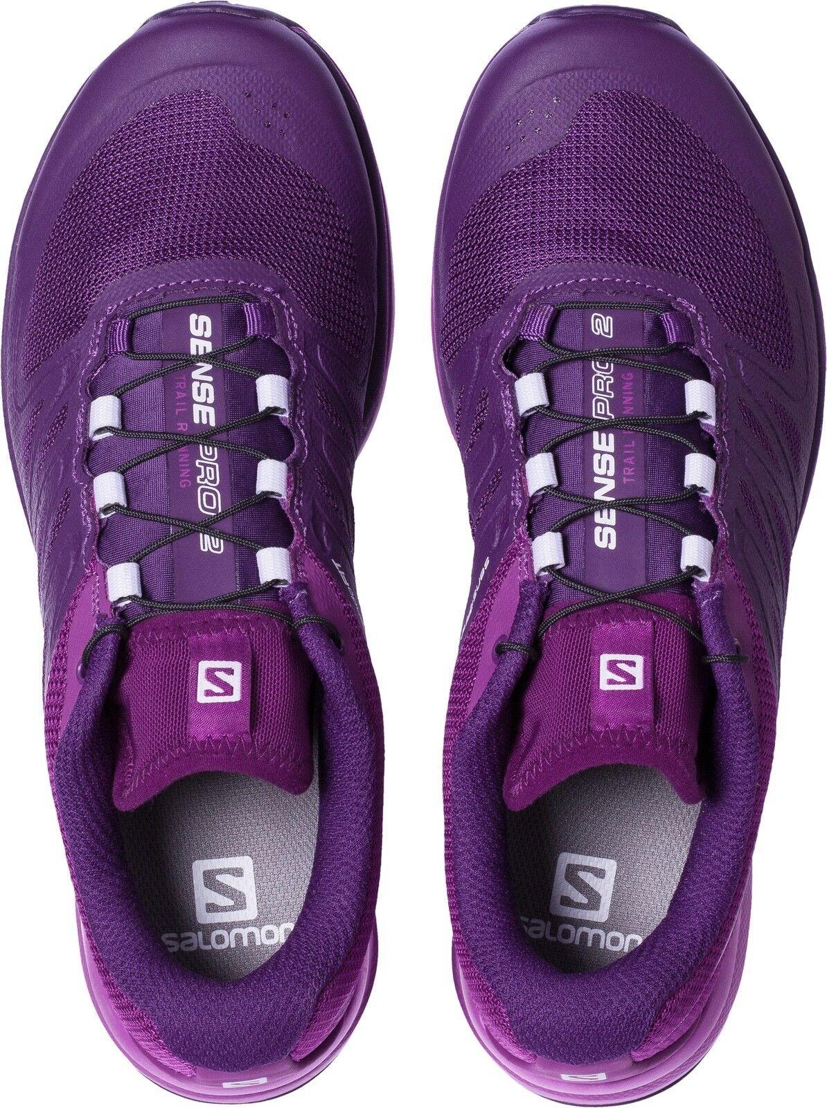 Salomon Sense Pro Trail Runner Cosmic Purple Women's 9