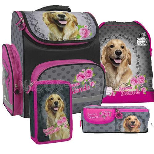 Cleo & Frank Pets Hund Dog Schulranzen Schulranzenset Tornister Ranzen Set (4) | Kostengünstiger  | Offizielle Webseite  | Praktisch Und Wirtschaftlich