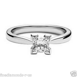 NEW-0-25-CARAT-SOLITAIRE-PRINCESS-CUT-DIAMOND-ENGAGEMENT-RING-9K-amp-18K-GOLD