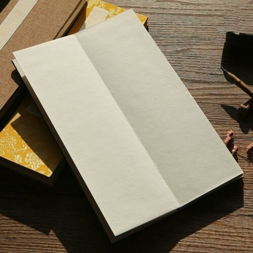 Chinese Xuan Paper Jacquard Pamphlets Writing Retro Penmanship Folding Booklets
