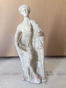 Riproduzione-STATUA-TERRACOTTA-29-cm-ST24-scultura-greco-romana-antica