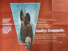 Sylvia Kristel GOODBYE EMMANUELLE (1977) Original movie poster