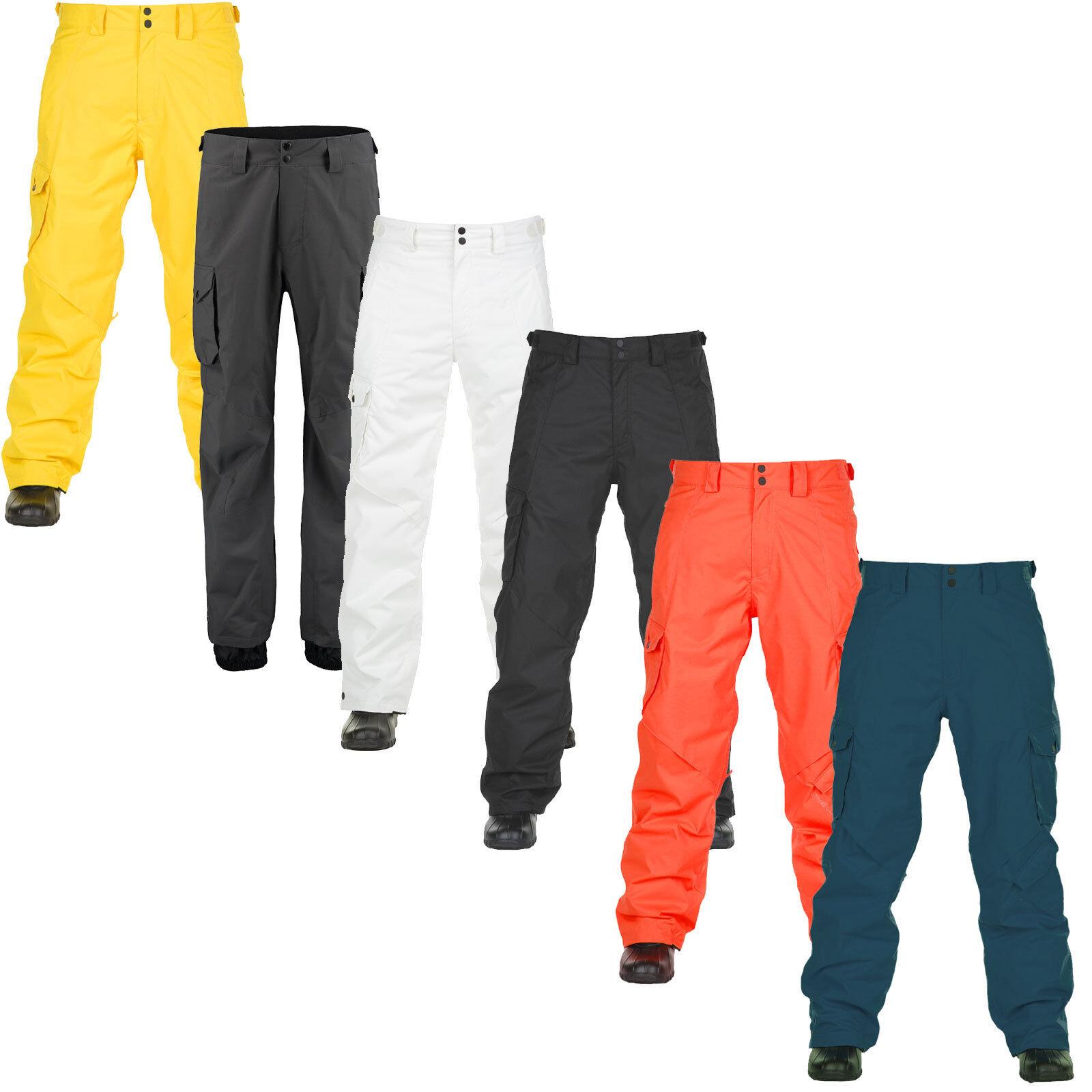 Oneill Exalt Pantalón de Hombre Pantalones Snowboard Esquí Funcionales Nuevos