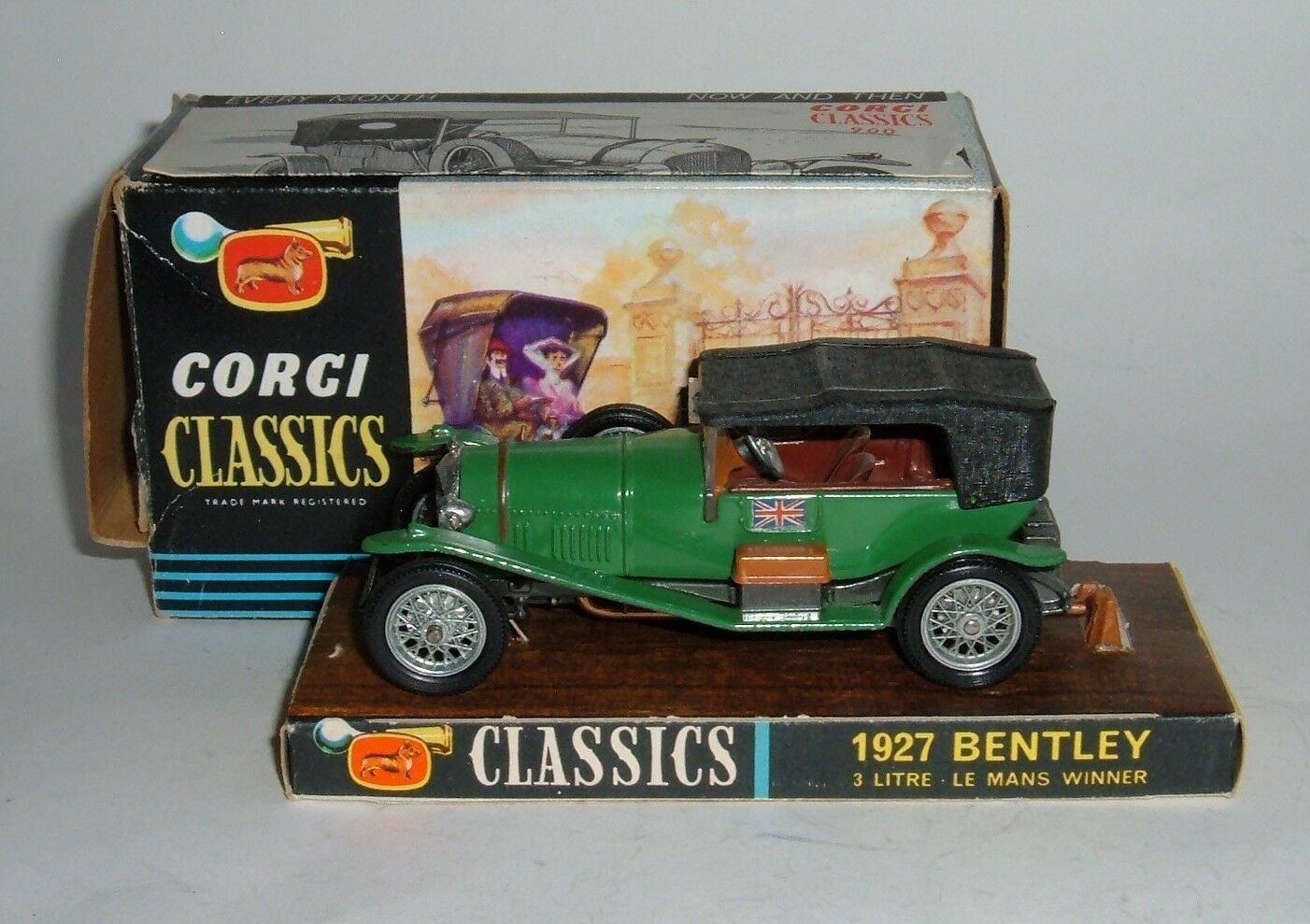 CORGI TOYS no 900, 1927 Bentley, - SUPERBE