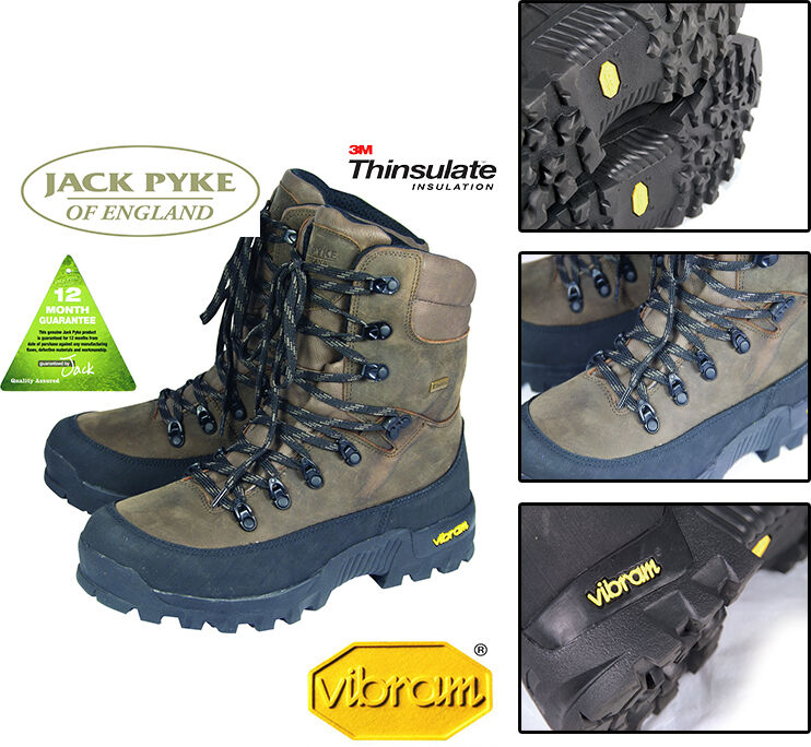 JACK Pyke Countryman Hunters impermeabile Hunter pelle stivali fieldman Caccia Hunter impermeabile f416af