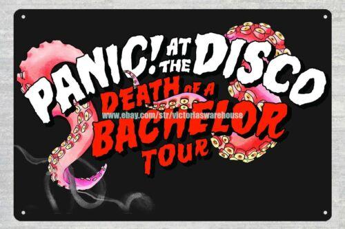 Panic At The Disco metal tin sign home decor restaurant pub