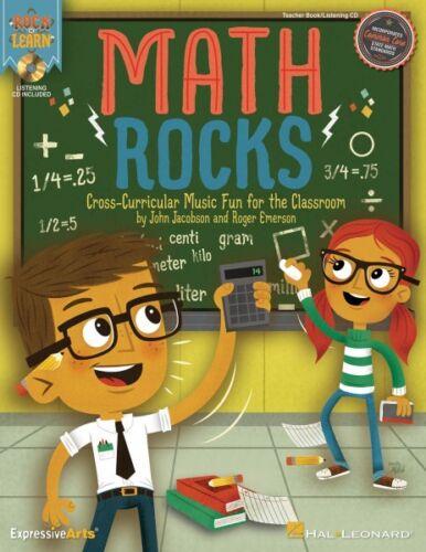 Math Rocks Cross-Curricular Music Fun for the Classroom Expressive Art 000126014