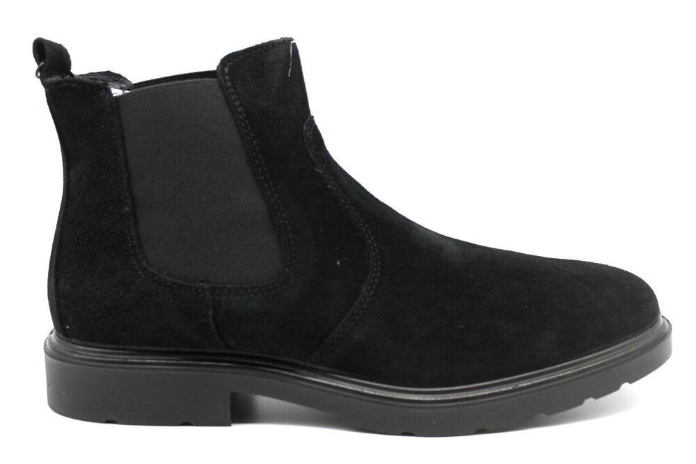 Capable Igieco 4100333 Noir Bottines Chaussures Hommes Chaussure Casual Bon GoûT