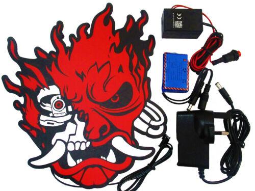 driver power pack Cyber Punk 2077 glowing Samurai patch