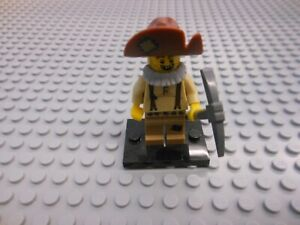 New Genuine LEGO Prospector Minifig with Pick Axe Series 12 71007