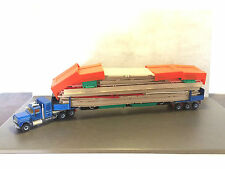 Siku 4013 Mack Hauber US Truck mit Autobahnbrücke Straßenbrücke LKW