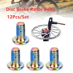 12Pcs-Boxed-M5x11-5mm-MTB-Bike-Disc-Brake-Rotor-Bolt-T25-Torx-Rotor-Screw