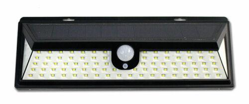 Luce solare crepuscolare sensore movimento da esterno 92 led IP65 luce bianca