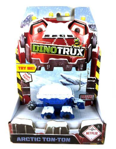 Arctic Ton tonne dinotrux Netflix DREAMWORKS DIECAST METAL véhicule MATTEL NEUF NEW IN BOX