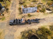 HO Roco Minitanks #112 1st Panzer Army Half-Track 105MM Artillery Gun with Crew