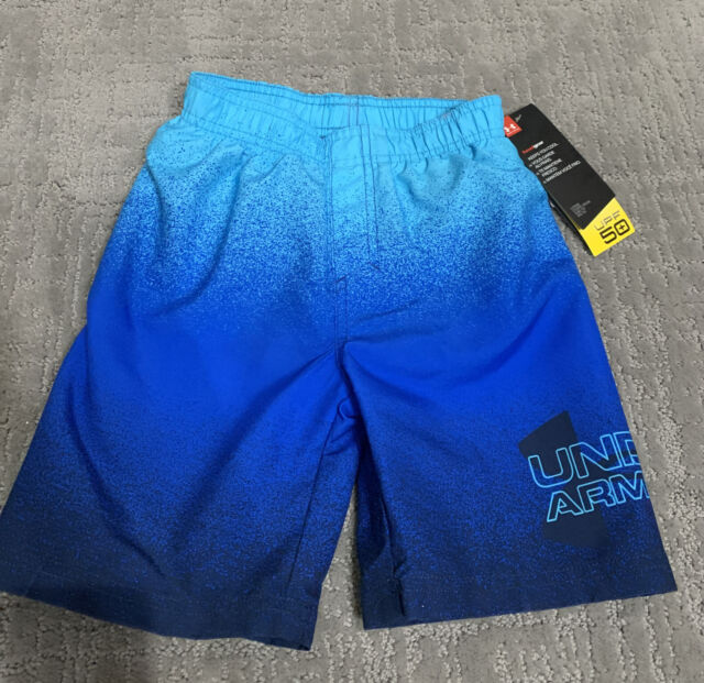 New with tags Under Armour swim trunks size 4 $35