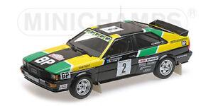 Minichamps 155811122 Échelle 1:18, Audi Quattro - Sport - # In #