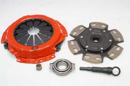 Action Clutch Stage 3 1MS 6-Puck Kit For 92-00 Honda Civic EG EK D16 ACR-0631-6P
