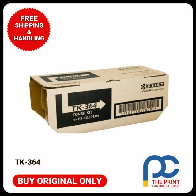 New & Original Kyocera TK-364 Black Toner Cartridge FS-4020DN