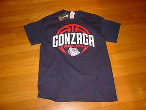 sneakers for cheap 61998 e4f32 Details about GONZAGA BULLDOGS BASKETBALL T-Shirt NWT NEW sz... SMALL