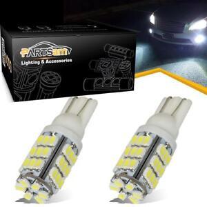 2x 6000K Xenon White LED T10 921 912 AOT 42SMD Backup Reverse Light Bulb 192840103109