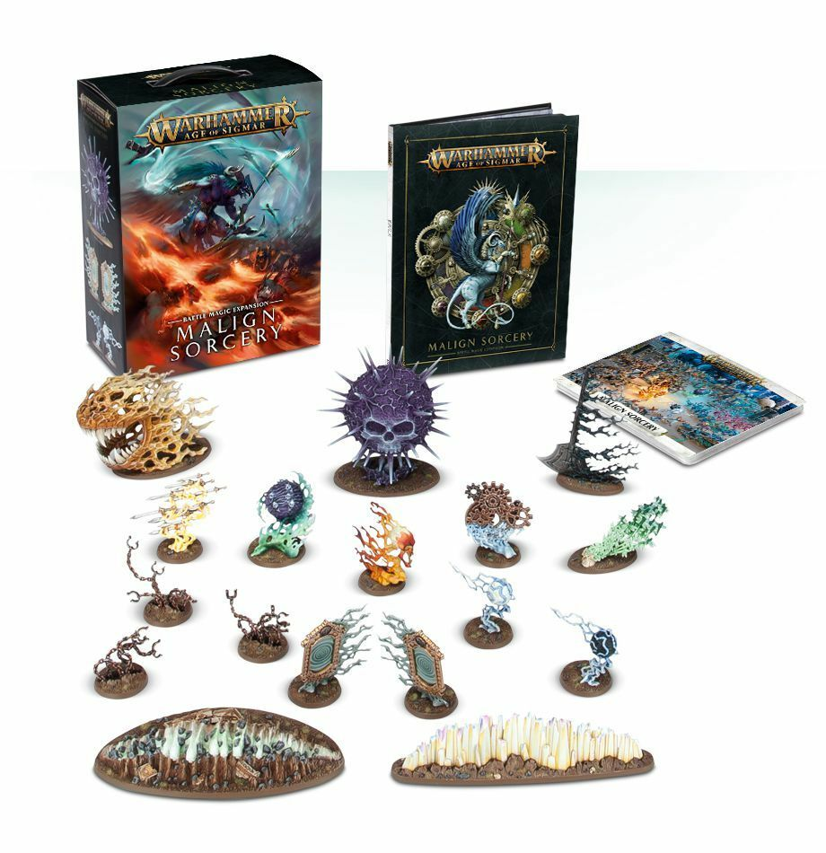 Warhammer AGE OF Sigmar funesta sortilegio (tedesco) Games Workshop magico