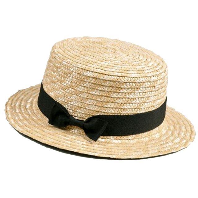 Kids Large Brim Beach Straw Sun Hat