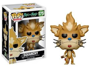 Squanchy The Rick and Morty TV Show POP! Animation #175 Vinyl Figur Funko