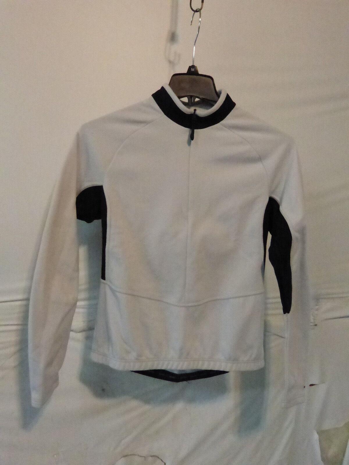 Sportful Para mujeres Mangas Largas Midweight Ciclismo Camiseta Pequeña blancoo Negro Ret  120