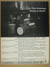 1966 Trixon Telstar Drum Outfit Model 2000 set kit photo vintage print Ad