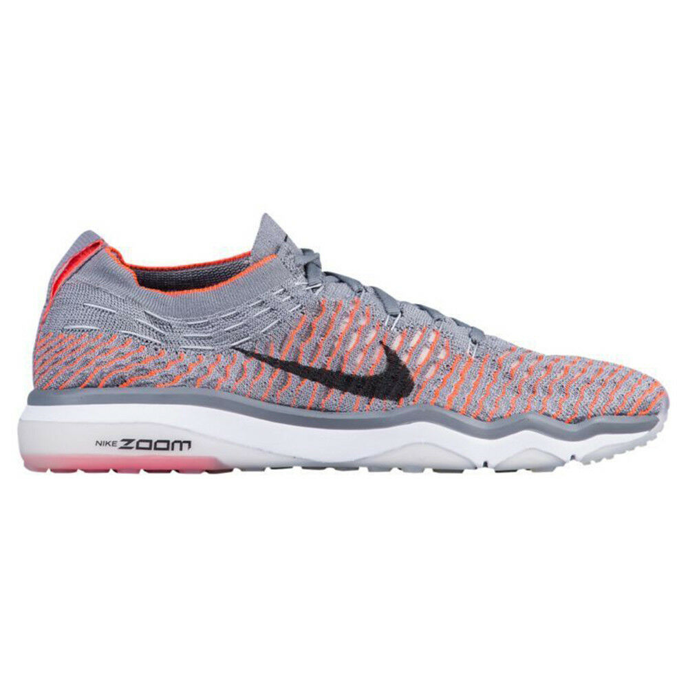 Nike Air Zoom Fearless Flyknit Womens 850426-003 Grey Crimson shoes Size 10