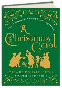 A Christmas Carol Original Manuscript Edition by Charles Dickens (Hardcover) 9780393608649 | eBay