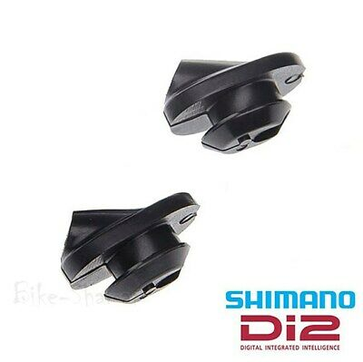 Pack of 2 SM-GM01 Round or SM-GM02 Oval Rubber Shimano Di2 Frame Grommets Set