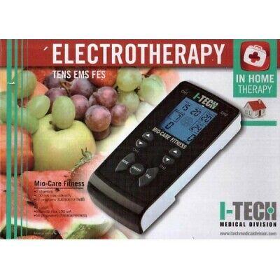 I-TECH PHYSIO Elettrostimolatore Professionale 2 canali indipendenti IACER