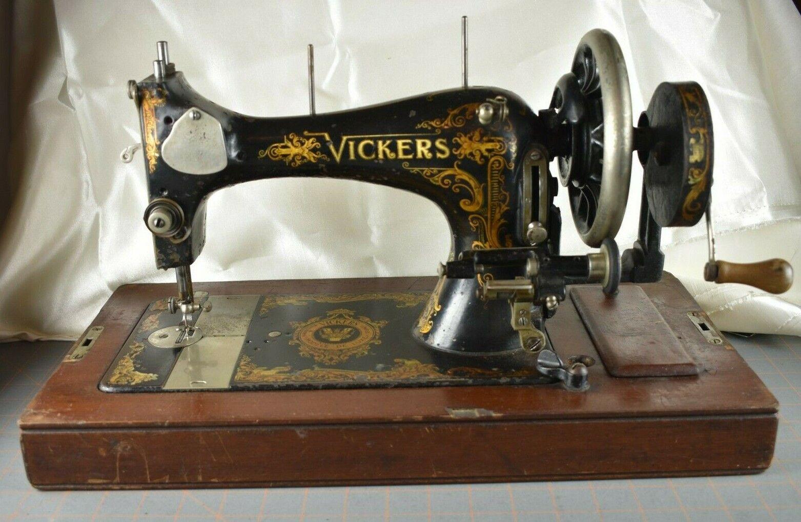 Vickers Modele de Luxe: Serial No. C1-15065. This machine
