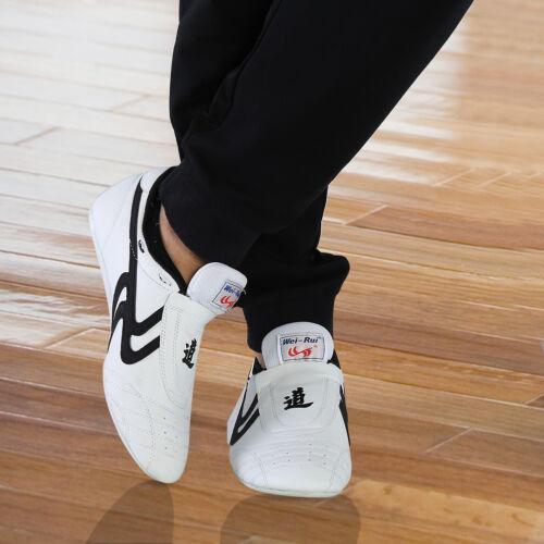 Kids Men Taekwondo Shoes Martial Art Trainers Karate Training Athletic All Size~