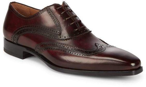 Handmade Men wing tip brogue shoes, Men formal leather shoes, Men dress shoes