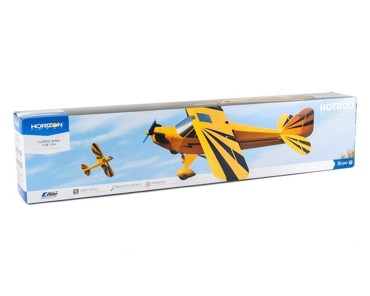Eflite E-flite Clipped Wing Cub 1.2m BNF Basic With AS3X and SAFE Select EFL5150